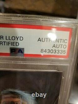 2017 leaf pop century Christopher Lloyd 1/1 Auto Sketch Card Back to the Future