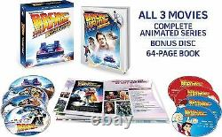 BACK TO THE FUTURE COMPLETE ADVENTURES Blu Ray Sealed Region free