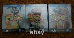 Back To The Future 1, 2 and 3 Steel book blu-ray new and sealed