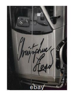 Back To The Future Delorean Signed By Christopher Lloyd 100% Authentic With COA