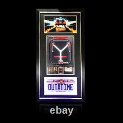 Back To The Future LED Flux Capacitor Signed by Christopher Lloyd & Bob Gale