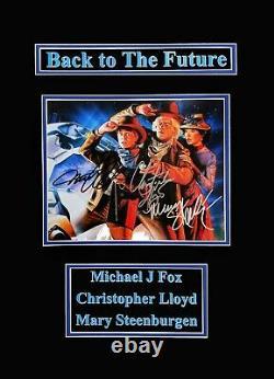 Back To The Future-Michael J Fox-Christopher Lloyd-Mary Steenburgen Original Aut