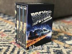 Back To The Future Trilogy 4K UHD Blu-ray Steelbook HDZeta 1-Click Box Set OOP