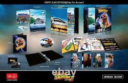 Back To The Future Trilogy Hdzeta 4k Uhd Steelbook Rare Boxset New & Sealed