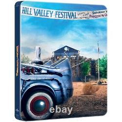 Back To The Future Ultimate Trilogy 4K Ultra HD Steelbooks & Blu-ray New
