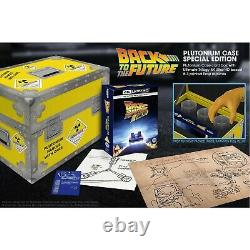 Back To The Future Ultimate Trilogy Plutonium Case Collectors Edition 4K UHD