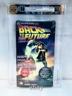 Back To The Future VHS IGS Graded Sealed Collectible McDonald's Rare