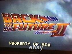 Back to the Future 2 vhs MCA 1990 Screener Promo Copy Zemeckis rare vhtf
