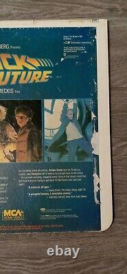 Back to the Future CED Rare Video Disc