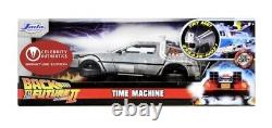 Back to the Future Delorean Signed by Michael J Fox and Christopher Lloyd