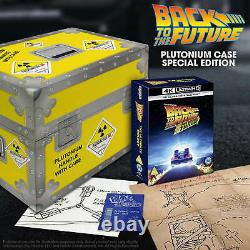 Back to the future trilogy 4k+2D UHD Plutonium Case Collector's Edition SOLD OUT