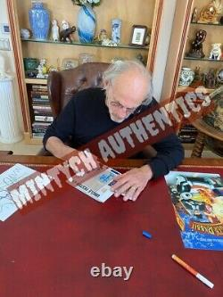 CHRISTOPHER LLOYD SIGNED 11x17 PHOTO! BACK TO THE FUTURE! BECKETT COA! DOC BROWN