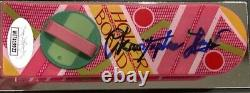 CHRISTOPHER LLOYD Signed Autograph Mini Hover Board Back to the Future JSA