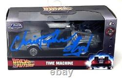CHRISTOPHER LLOYD Signed BACK TO THE FUTURE 2 132 DeLorean BAS # WK69325