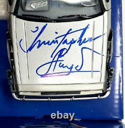 CHRISTOPHER LLOYD Signed BACK TO THE FUTURE 2 Delorean 124 Toy Car BAS #P99514