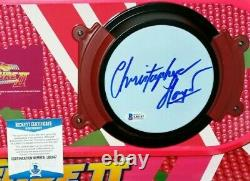 CHRISTOPHER LLOYD Signed BACK TO THE FUTURE HOVER BOARD + COA BUY GENUINE