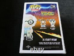 CHRISTOPHER LLOYD signed Autogramm BACK TO THE FUTURE Funko Pop Vinyl InPerson