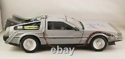 Christopher Lloyd Autographed Signed Back to the Future Delorean 1/16 Car JSA