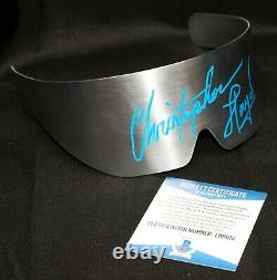 Christopher Lloyd Back To The Future 2 metal Signed Doc Glasses Prop Beckett