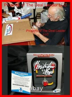 Christopher Lloyd Back To The Future Doc signed Flux Capacitor PSA Beckett