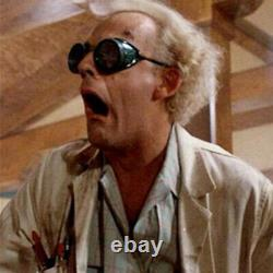 Christopher Lloyd Back To The Future Doc signed Goggles Prop Beckett PSA JSA