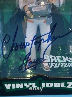 Christopher Lloyd Back To The Future Large Idolz Funko Signed JSA certified