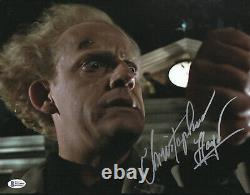 Christopher Lloyd Back To The Future Signed 11x14 Photo Autograph Beckett Bas 11