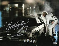 Christopher Lloyd Back To The Future Signed 11x14 Photo Autograph Beckett Bas 15