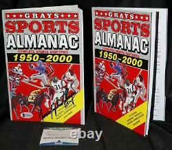 Christopher Lloyd Back To The Future Signed Grays Sports Almanac Beckett PSA