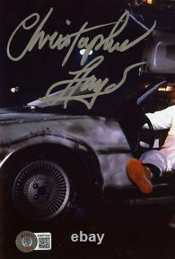 Christopher Lloyd Back to the Future Signed/Auto 8x10 Photo Beckett 163256