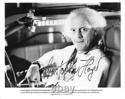 Christopher Lloyd Back to the Future Signed Autograph 8 x 10 Photo PSA DNA j2f1c