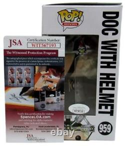 Christopher Lloyd Back to the Future Signed Funko Pop! #959 JSA 160064