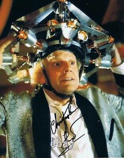 Christopher Lloyd HAND SIGNED 10x8 Back To The Future Photograph IN PERSON PROOF
