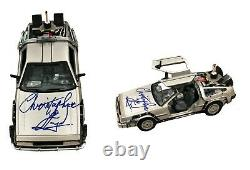 Christopher Lloyd Hand Signed Autographed Back To The Future Car And Beckett Coa