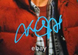 Christopher Lloyd/MJ Fox Signed Back to the Future 16x20 Close Photo- JSA WBlue