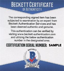 Christopher Lloyd + Michael J Fox Signed 11x14 Photo Back To The Future Beckett