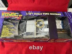 Christopher Lloyd Signed 1/15 Scale Diecast Delorean! Back To The Future Beckett