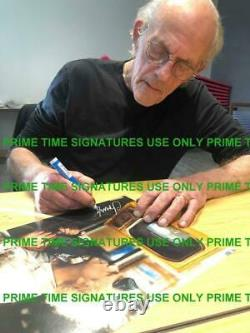 Christopher Lloyd Signed 11x14 Photo Back To The Future Doc Brown Auto Beckett H