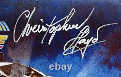 Christopher Lloyd Signed 11x17 Back to the Future Poster Photo PSA/DNA ITP