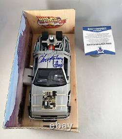 Christopher Lloyd Signed 124 Die Cast Car Beckett BAS Back To The Future Doc