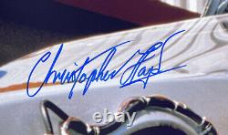Christopher Lloyd Signed 16x20 Back to the Future DeLorean Photo JSA ITP