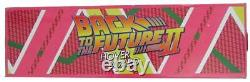 Christopher Lloyd Signed/Auto Back to the Future 11 Scale Hoverboard JSA 160066