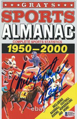 Christopher Lloyd Signed Autograph Grays Almanac Back To The Future Beckett 4