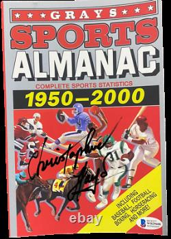 Christopher Lloyd Signed Back To The Future Grays Almanac Prop Proof Beckett Coa