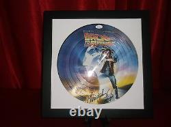 Christopher Lloyd Signed Back To The Future Lp Vinyl Picture Disc Framed Jsa Coa
