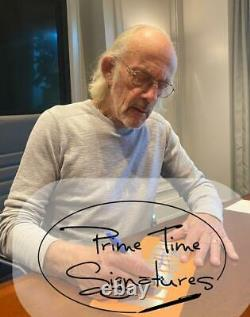 Christopher Lloyd Signed Back To The Future Part 2 License Plate Proof Beckett
