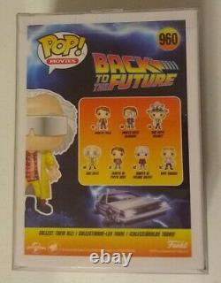 Christopher Lloyd Signed Doc Brown2015 Back To Future Part 2 Funko Pop