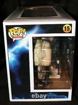 Christopher Lloyd Signed Doc With Clock Tower Back To Future Funko POP Beckett
