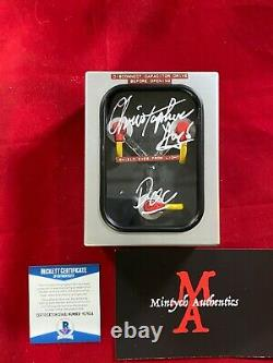 Christopher Lloyd Signed Flux Capacitor! Back To The Future! Beckett Coa
