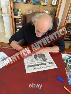 Christopher Lloyd Signed Metal License Plate! Back To The Future! Beckett Coa